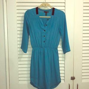 Aqua blue dress, size small